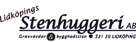 Gravstenar i Linköping Logotyp